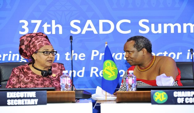 Thumbnail for President  Jacob Zuma  takes over from Swaziland king,  Mswati as SADC chairperson