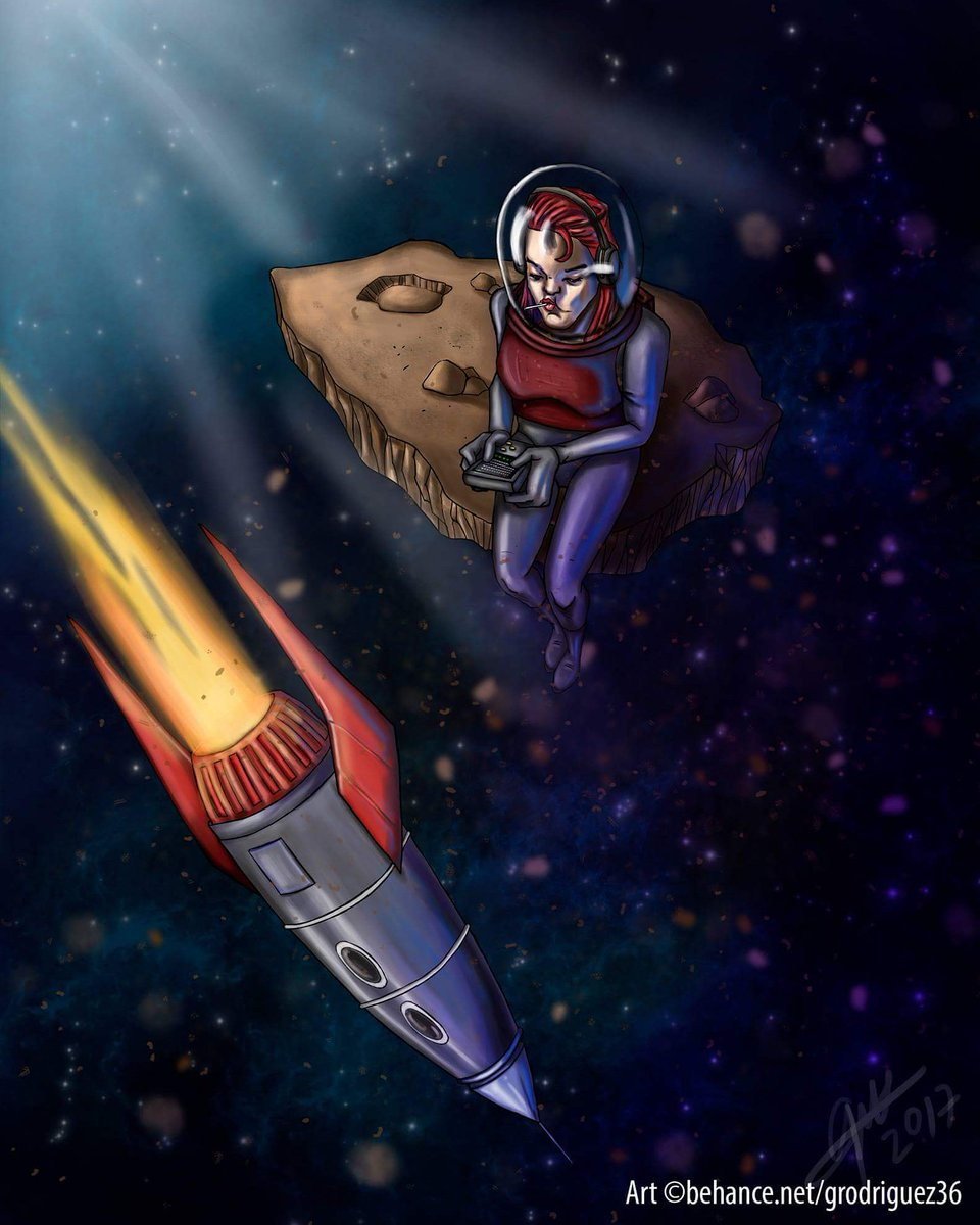Another ilustration accomplished ^_^ #DigitalPaint #spacewoman #DigitalArt #bamboowacom #Photoshoppic.twitter.com/xDHnp4pDFN