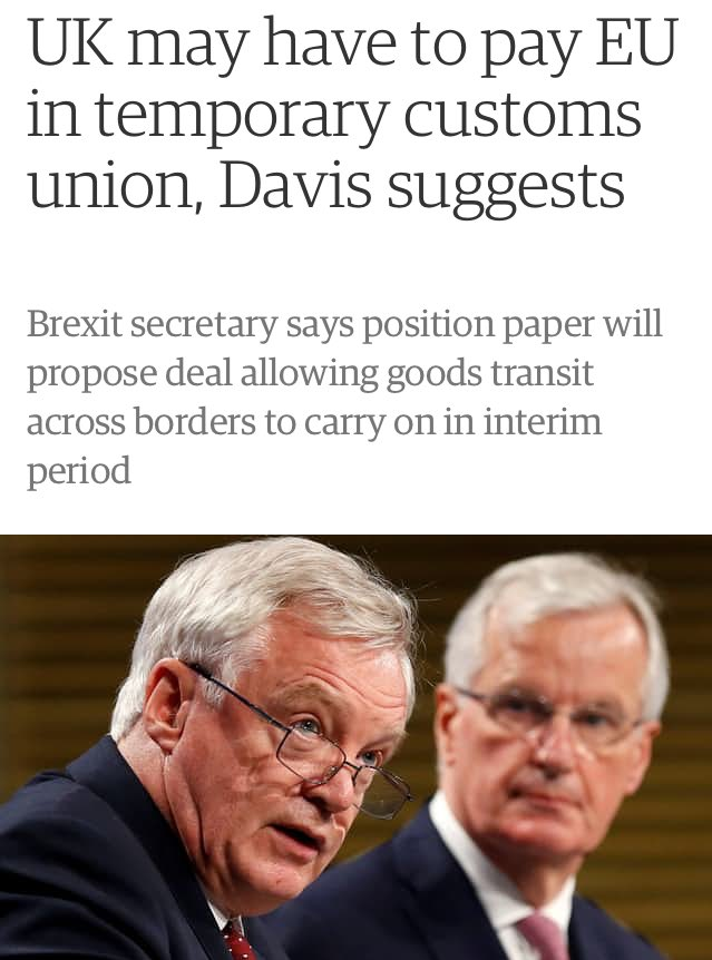 """""""We will keep same arrangements as customs union but it'll be different because we'll call it the 'coostums onion'"""" https://t.co/q4jQXb5onB"""
