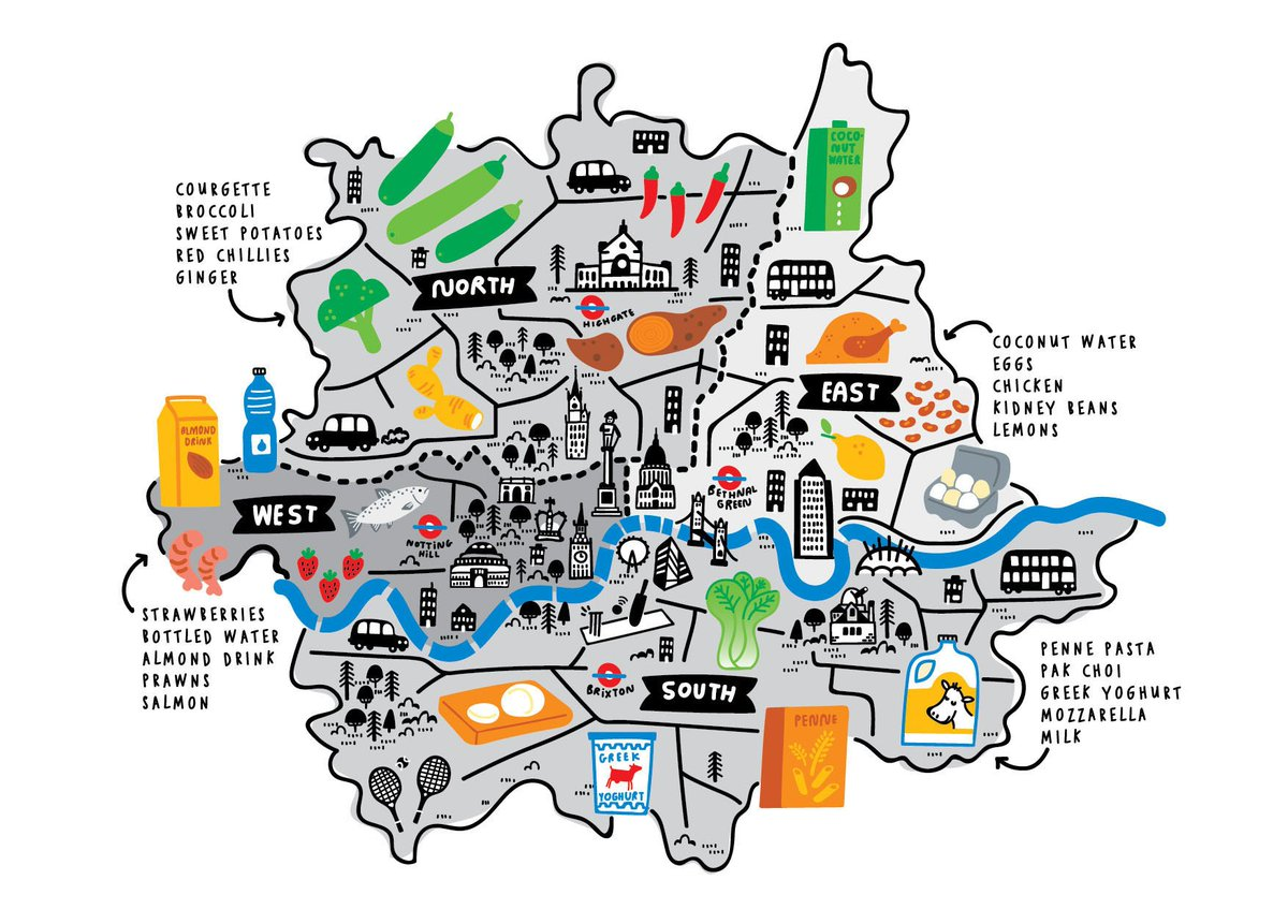 London Map Areas.Time Out London On Twitter This Food Delivery Map Shows