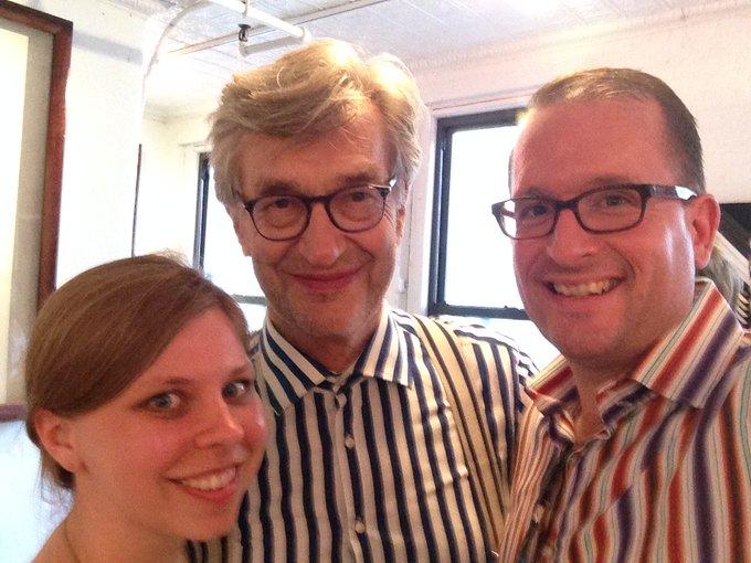 Happy Birthday to my good friend Wim Wenders!