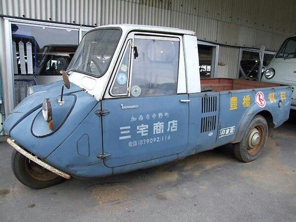 Quirky Rides On Twitter Mazda K360 Japanese 3 Wheel Truck With