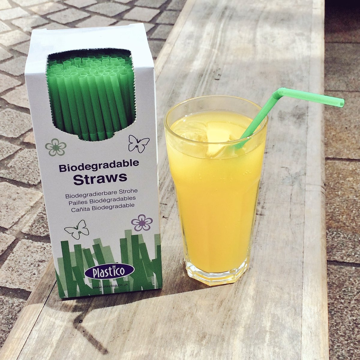 We try to be a conscientious company, we&#39;re now stocking Biodegradable straws to help reduce our plastic usage.  #SaveThePlanet <br>http://pic.twitter.com/plnBaxXVfr