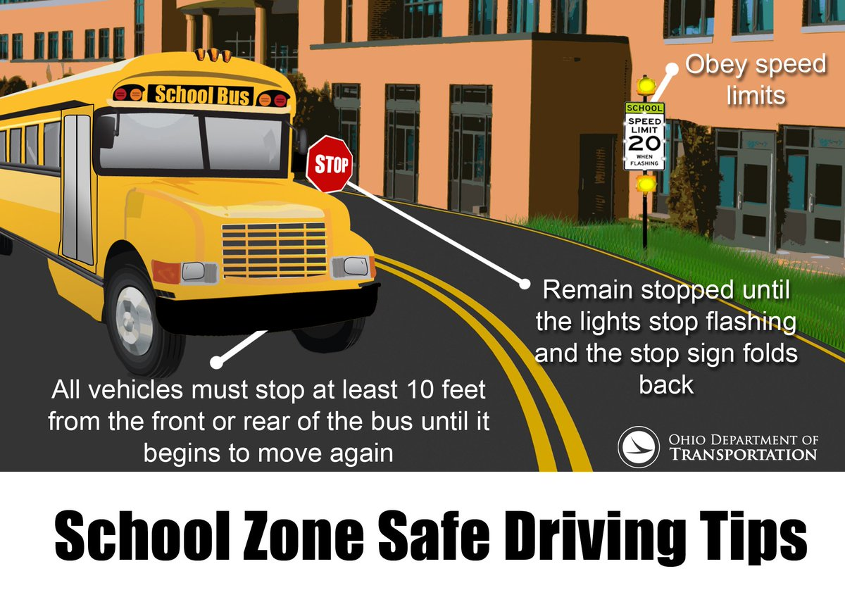 School buses will be out soon! Follow these tips so students make it home safely https://t.co/vGirbNrnO6 https://t.co/OrFFwbzuB3