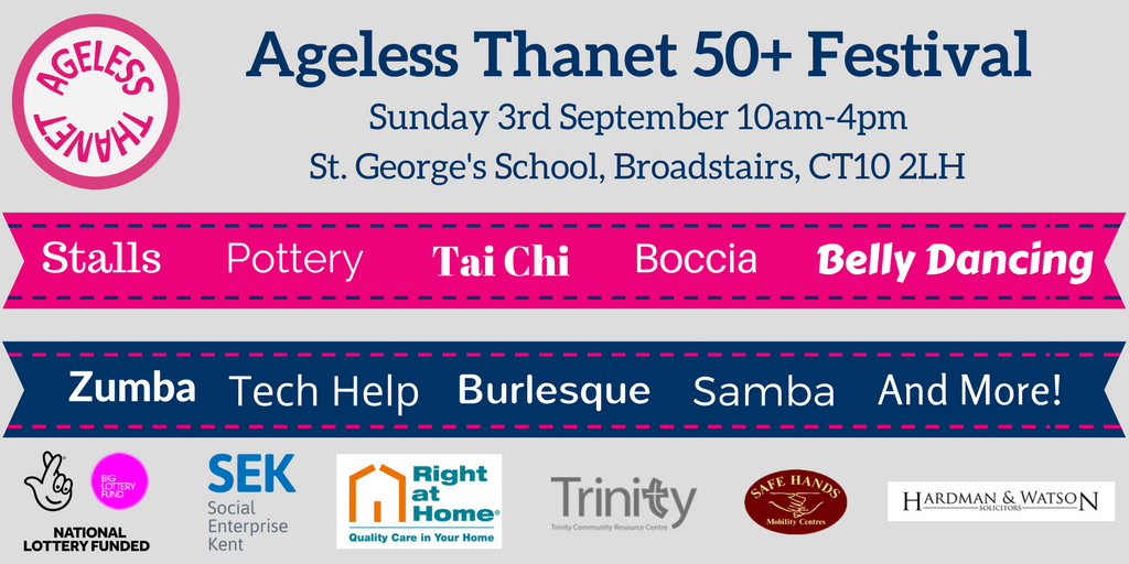 There will be lots going on at our 50+ Festival on Sunday 3rd September! https://t.co/jXCWA8ATQq