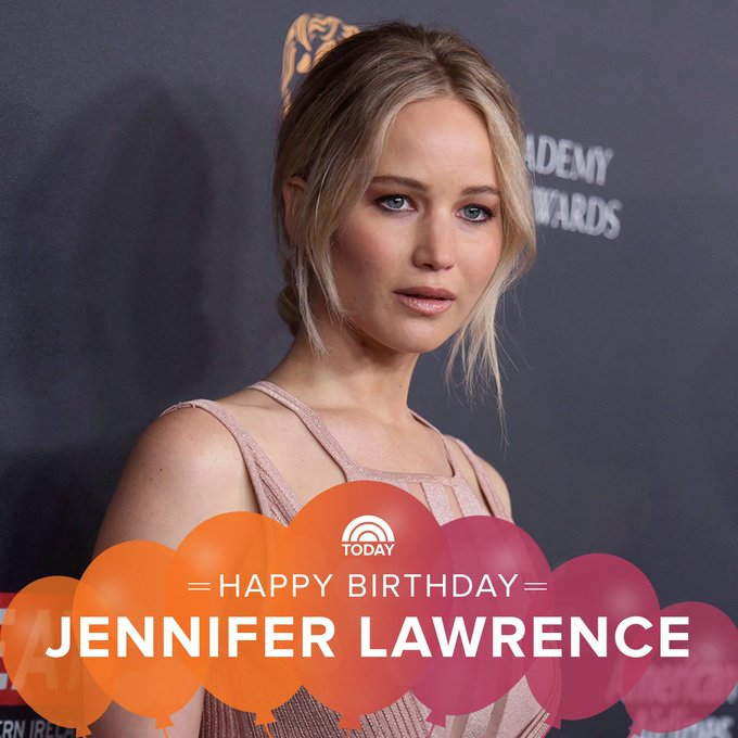 Happy birthday to the always charming Jennifer Lawrence!