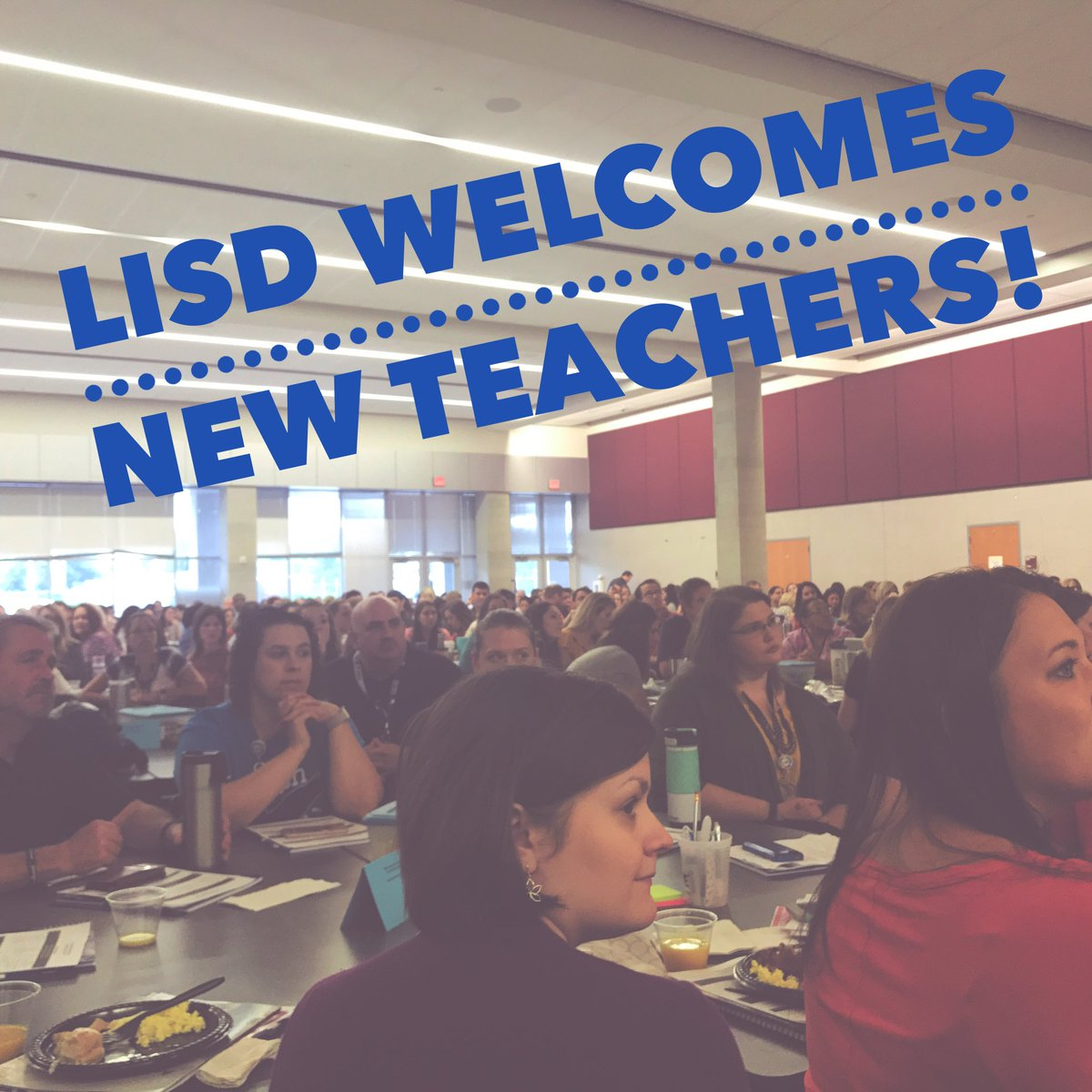 We are off to a great start to the 2017-18 school year! Welcoming over 366 new teachers to LISD. #Welcome #NewTeachers<br>http://pic.twitter.com/UxGulw4Upz