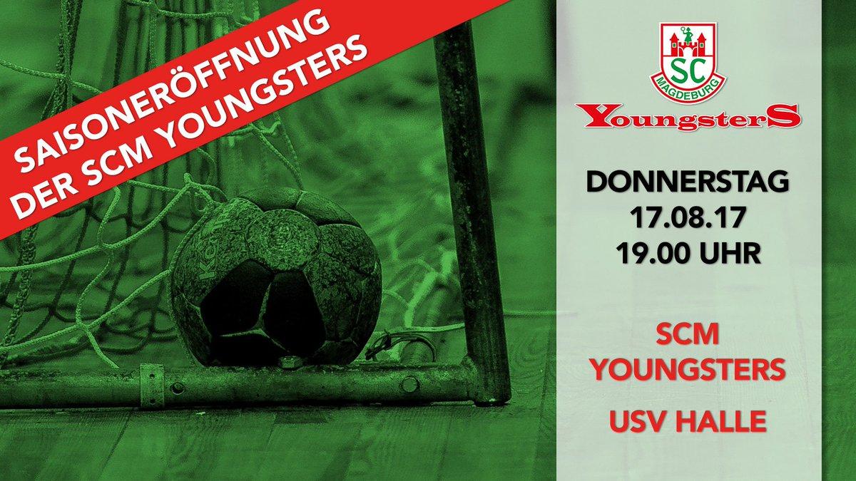 Saisoneröffnung der @YoungsterSCM in der Hermann-Gieseler-Halle #scmagdeburg #magdeburgerjungs https://t.co/1s8tgGu9R0