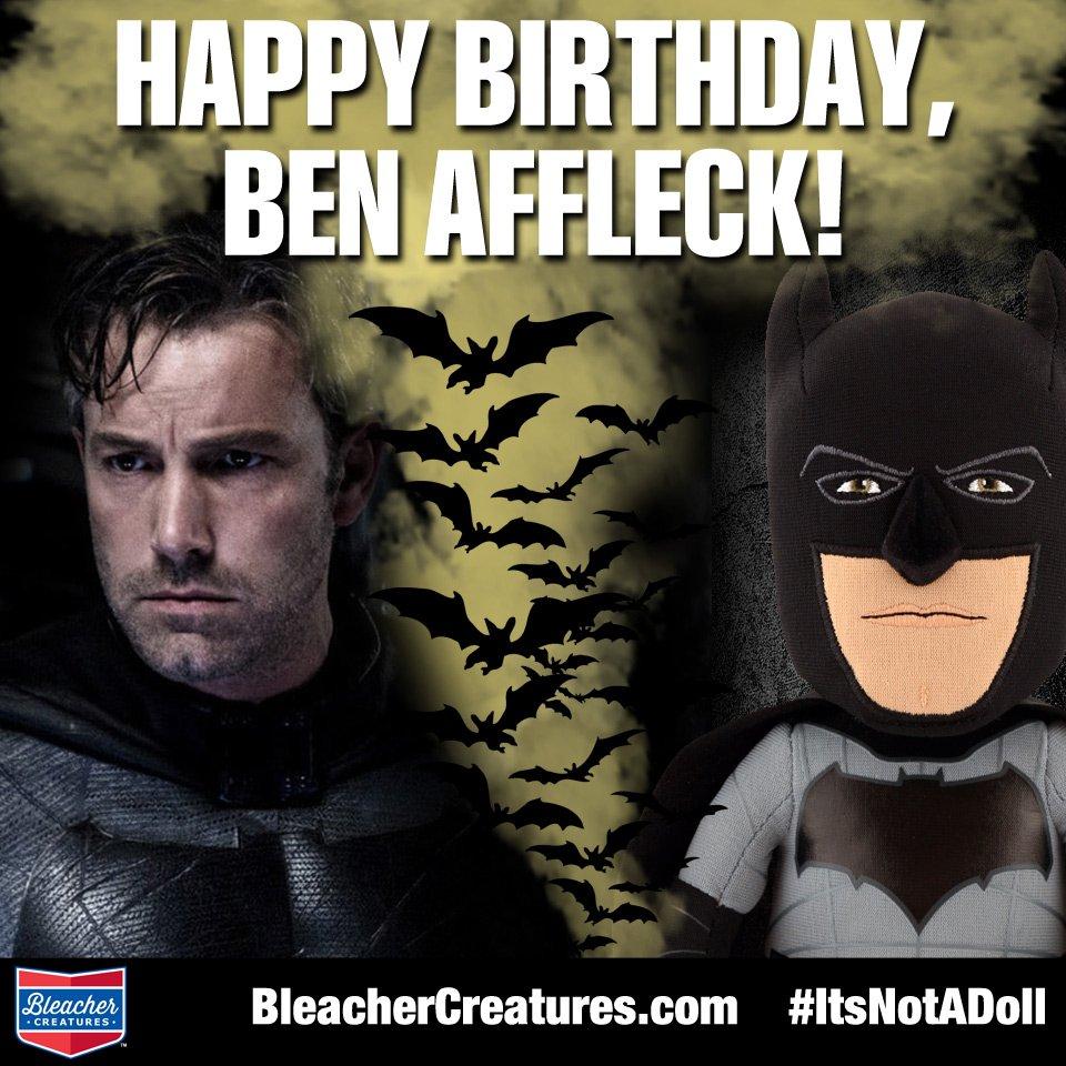 Happy Birthday to Beantown great, Ben Affleck.   Ben Affleck