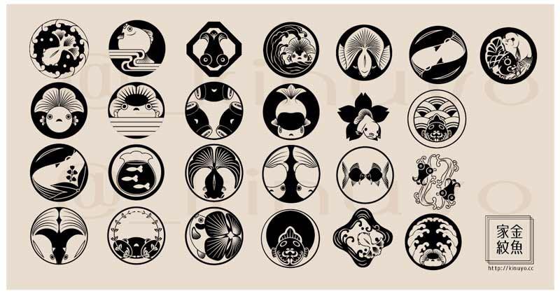 金魚家紋 #人外のイラストだけで興味を持ってくれる方へ届け https://t.co/oELMyB9eGJ