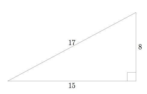Today's date is a primitive Pythagorean triple. https://t.co/2j0BAwUtkS