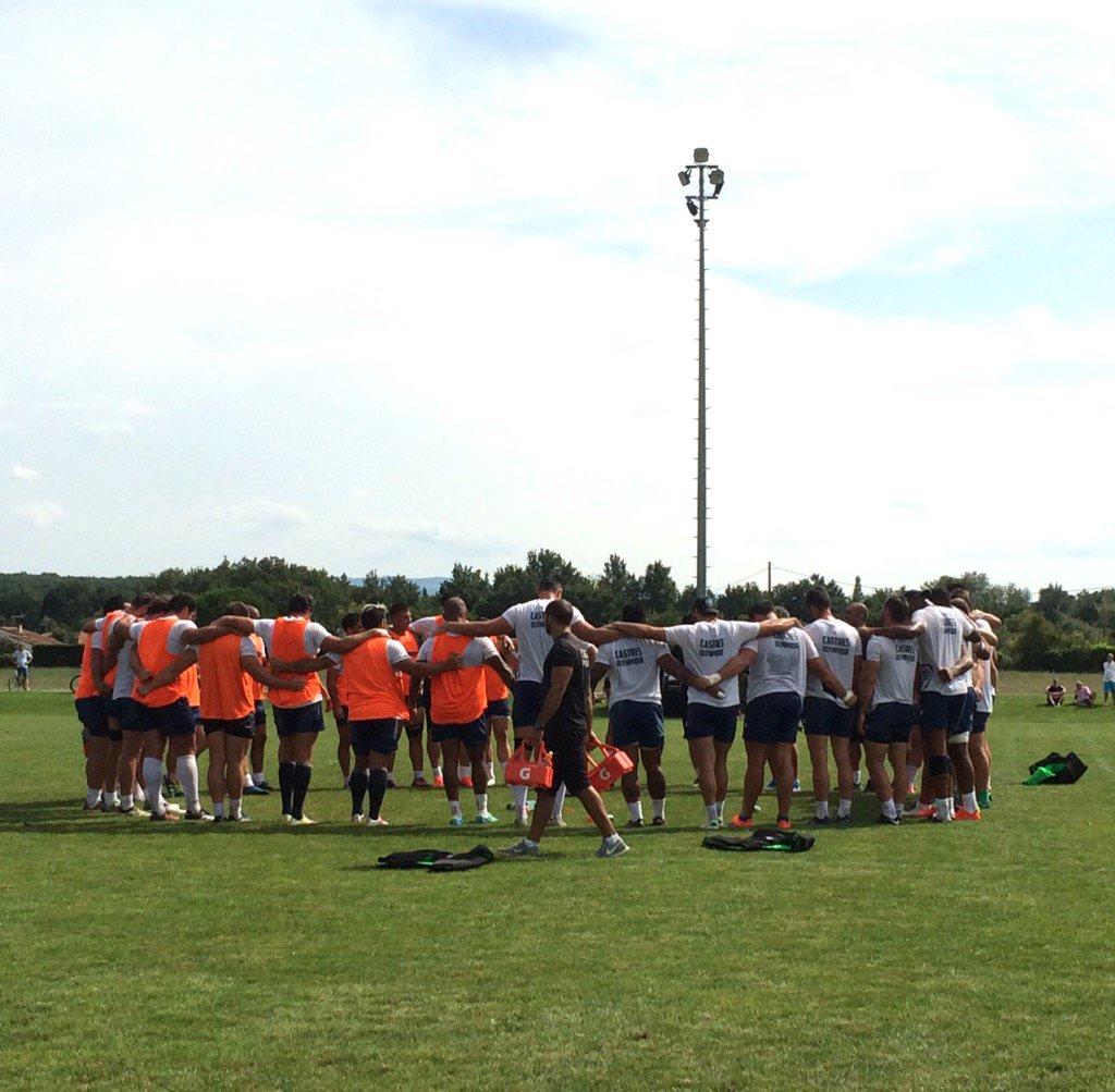 Fin de l'entraînement collectif au Levez...