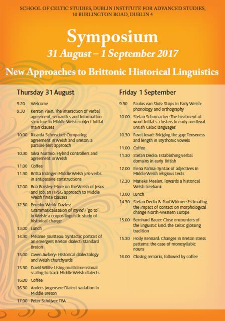 test Twitter Media - Prog. now available for New Approaches to Brittonic Historical Linguistics  Symposium 31/8/17 -1/9/17 @SCSLibrary https://t.co/6wK7U6RukW https://t.co/pwMfeuQiQn
