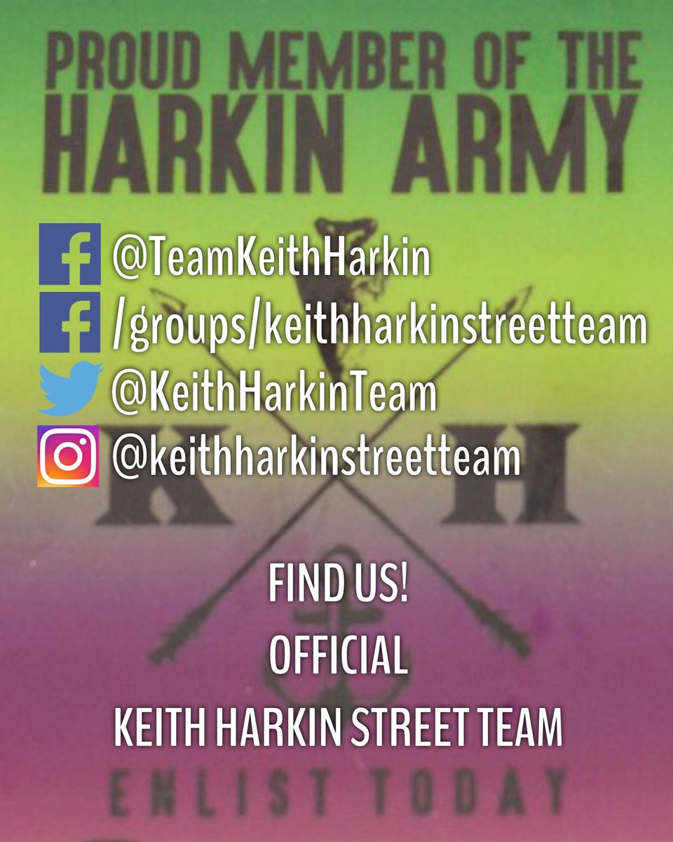 We are #loudandproud members of the #HarkinArmy #JoinUs &amp; help spread the word about @keithharkin #AllThingsHarkin #TeamKeithOfficial #KHST<br>http://pic.twitter.com/badWV6dQoa