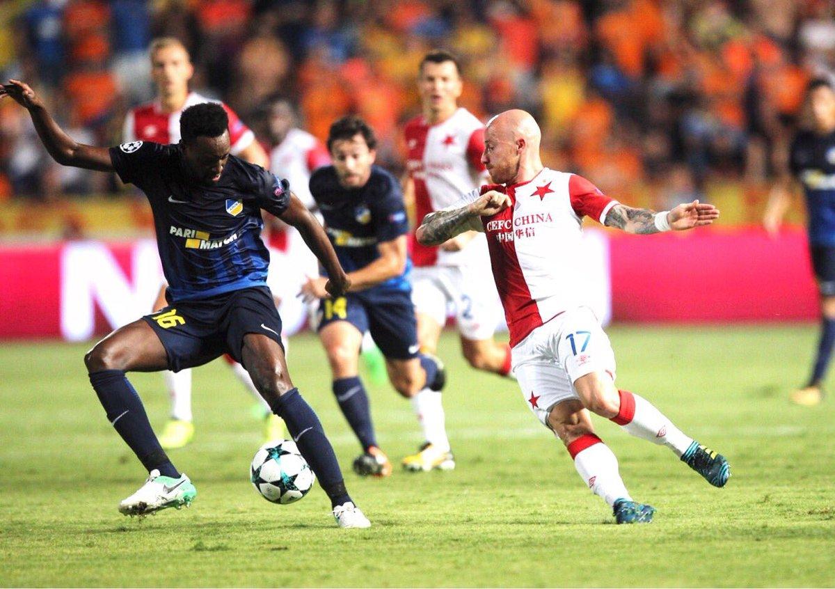 Video: APOEL vs Slavia Praha
