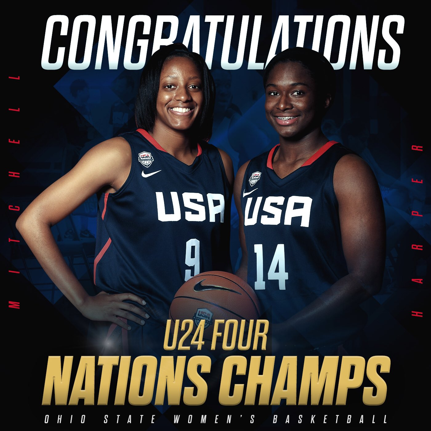 Ohiostatebuckeyes com the ohio state university official athletic - Congratulations Nae_2smoove And Kelz_hoop Safe Travels Back To The States