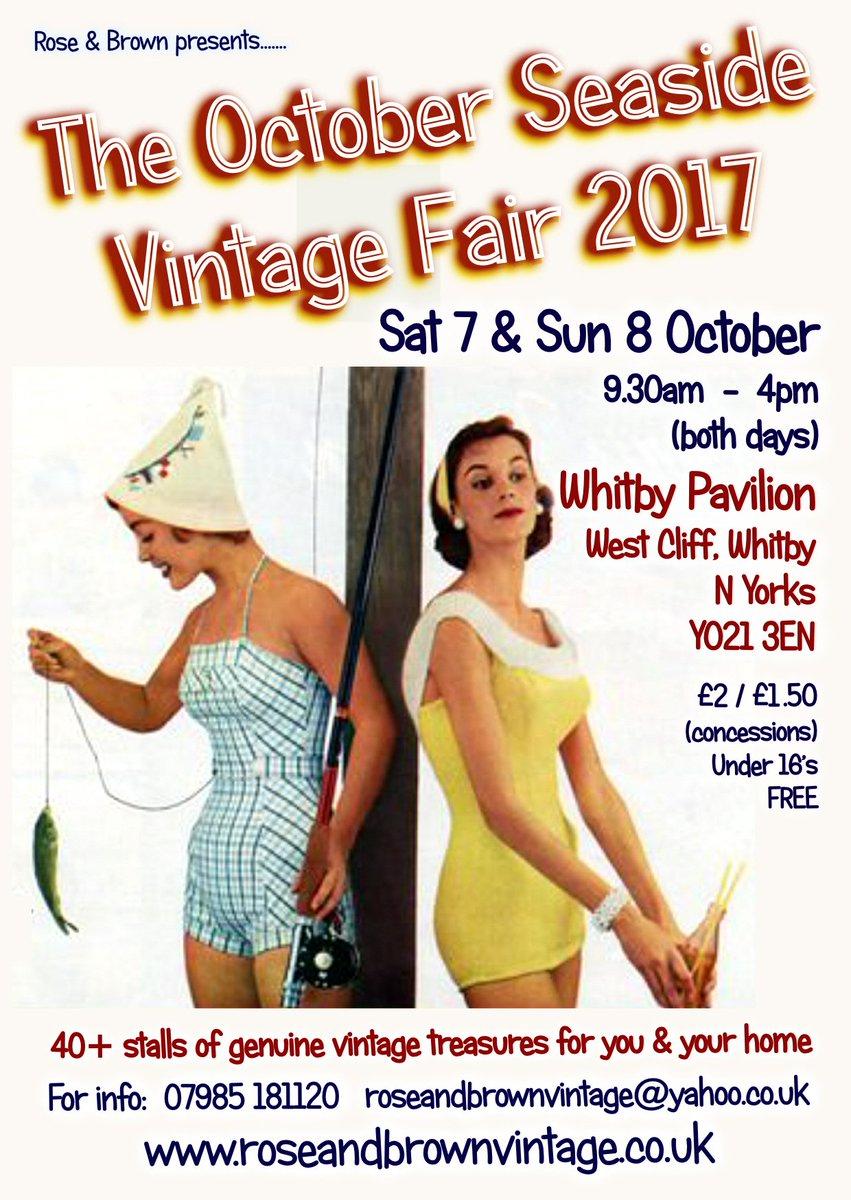 One for your diary: #Whitby is never far away ♡ #VintagebytheSea #vintagefair <br>http://pic.twitter.com/rGxIBtgNng