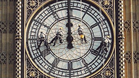 #لندن بعد 150 عام ساعة بيج بين الشهيرة تتوقف عن العمل وستبقى صامتة لأك...