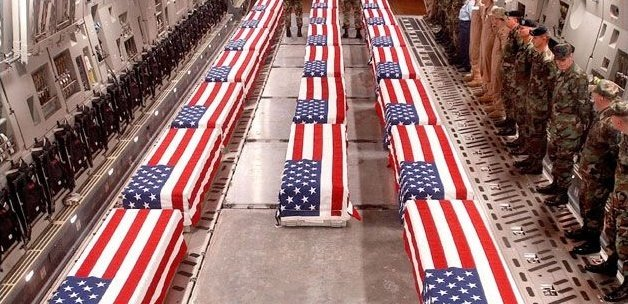 We only drape one flag over the coffins of fallen service men &amp; women  THE AMERICAN FLAG  #Confederate &amp; #Nazi flags are not what we defend <br>http://pic.twitter.com/uAQXpDlq5E