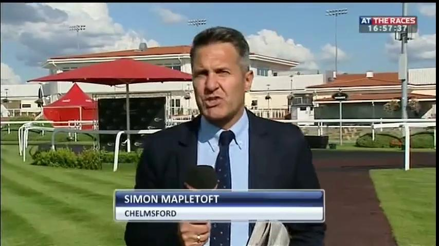 Image result for simon mapletoft at the races
