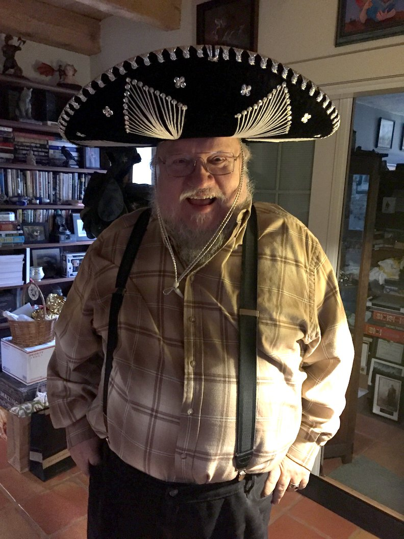 George Rr Martin On Twitter Quot Trying Out New Hats Part
