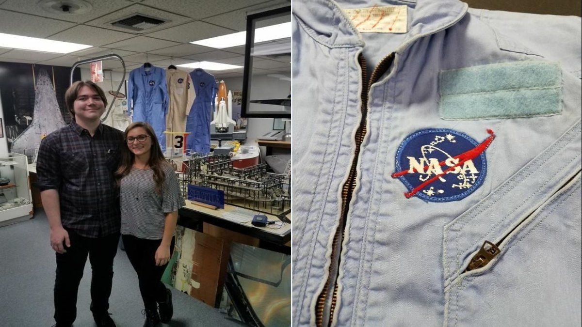 Image result for Thrift Shop Bargain Hunters Find Rare NASA Flight Suits