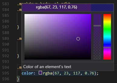 Visual Studio Code On Twitter Try Out The New Color Picker