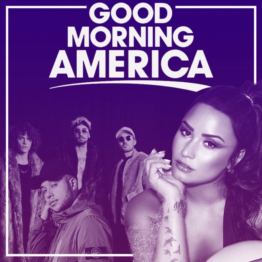 Demi Lovato will perform #NoPromises w/ Cheat Codes + #Instruction w/ Jax Jones on Good Morning America this Friday, August 18! #DemiOnGMA<br>http://pic.twitter.com/F29T5of4cy