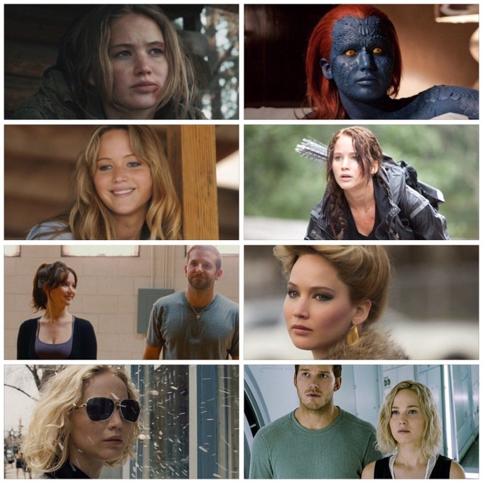 Happy birthday to Jennifer Lawrence (b.1990). Which of her performances is your favourite?