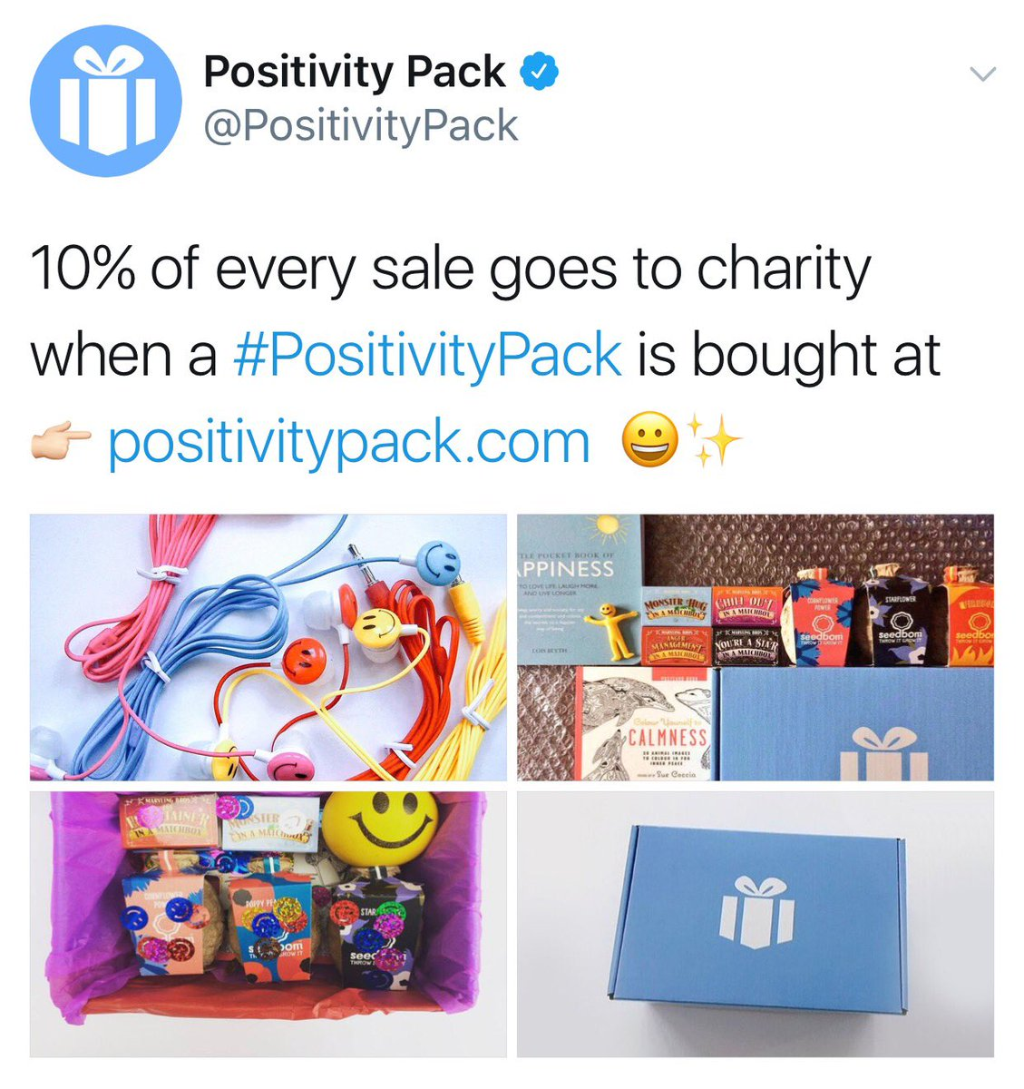 Just ordered my @PositivityPack from https://t.co/MOzO1crvy9 have you ordered yours?!