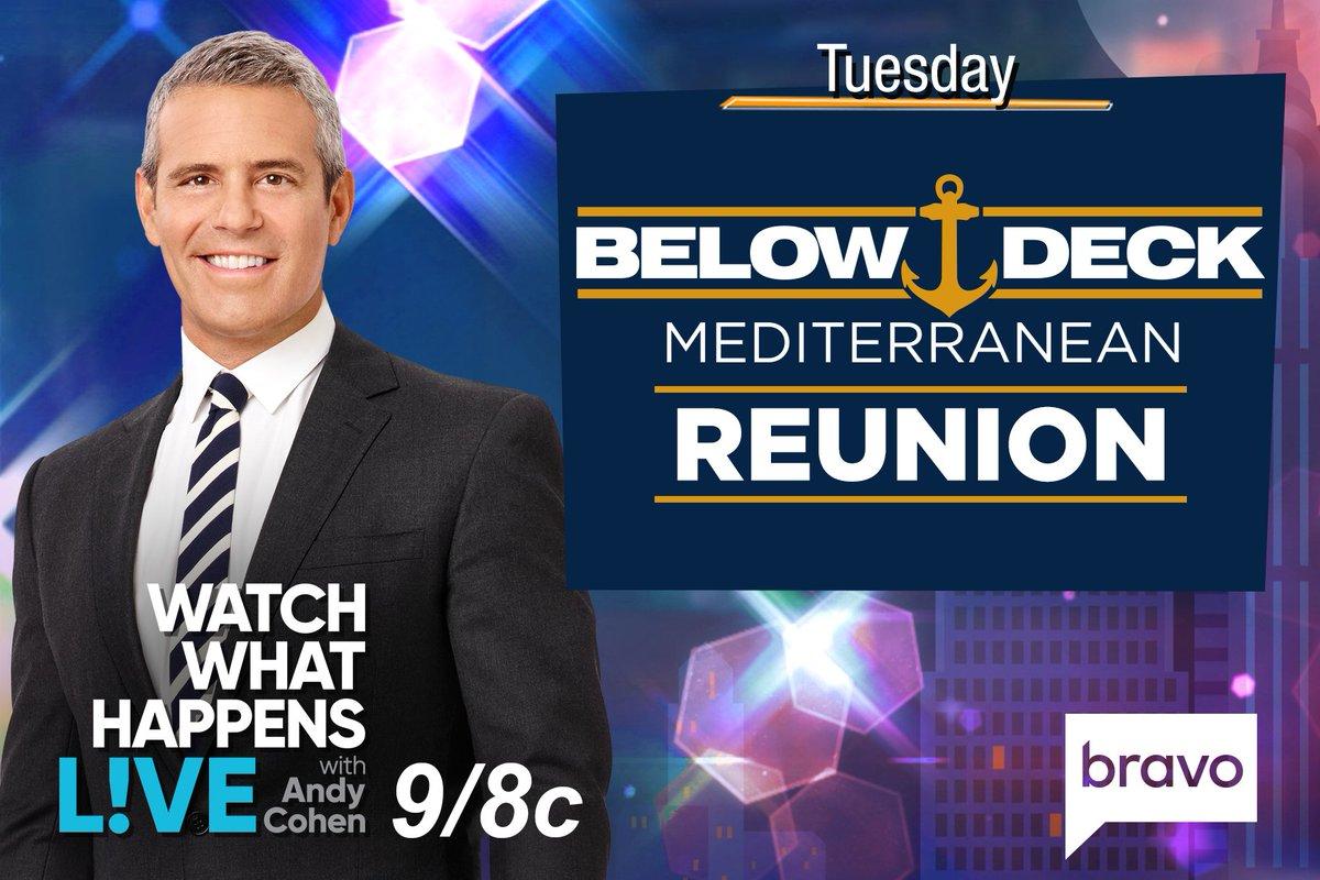 Below Deck Mediterranean cast tells all in reunion on WWHL