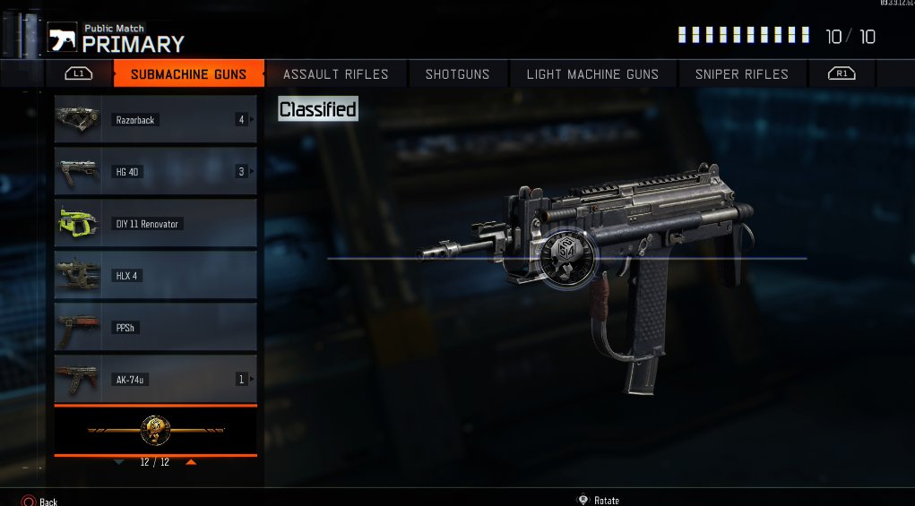 new weapons and a limited edition camo have been added to black ops
