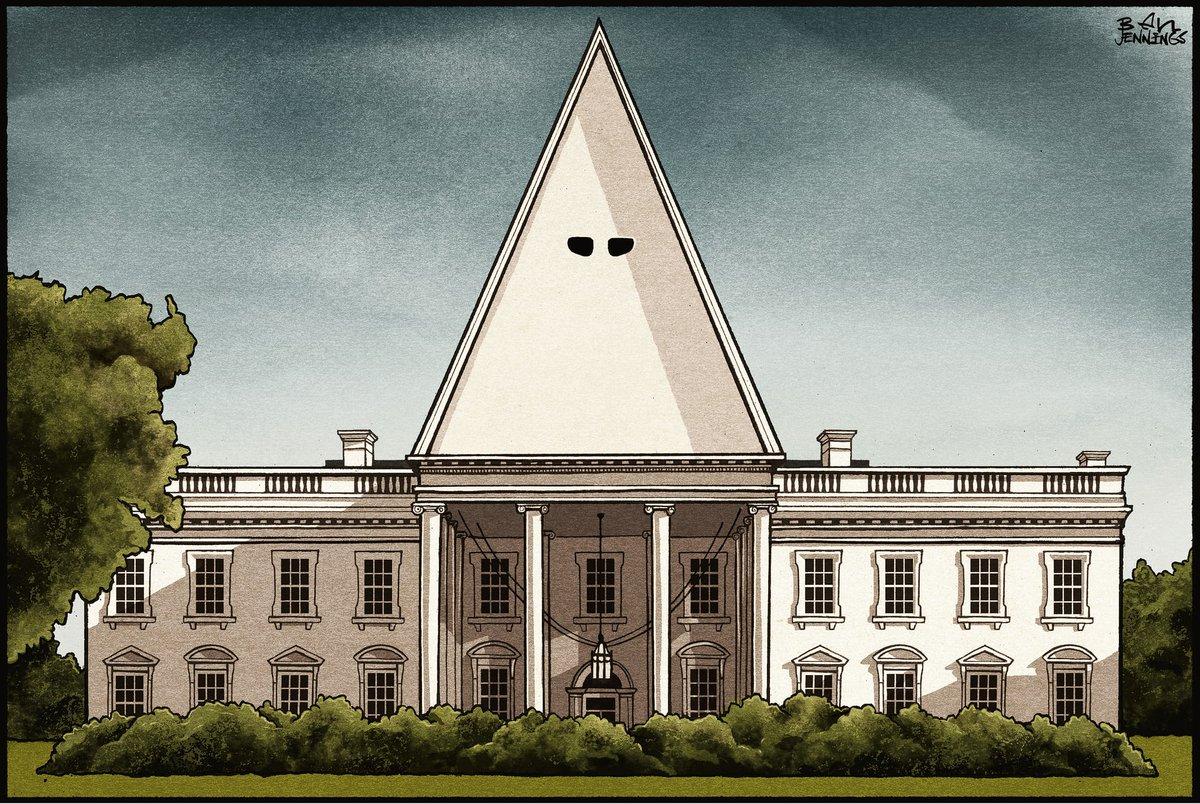 Ben Jennings on Donald Trump and Charlottesville – cartoon https://t.c...