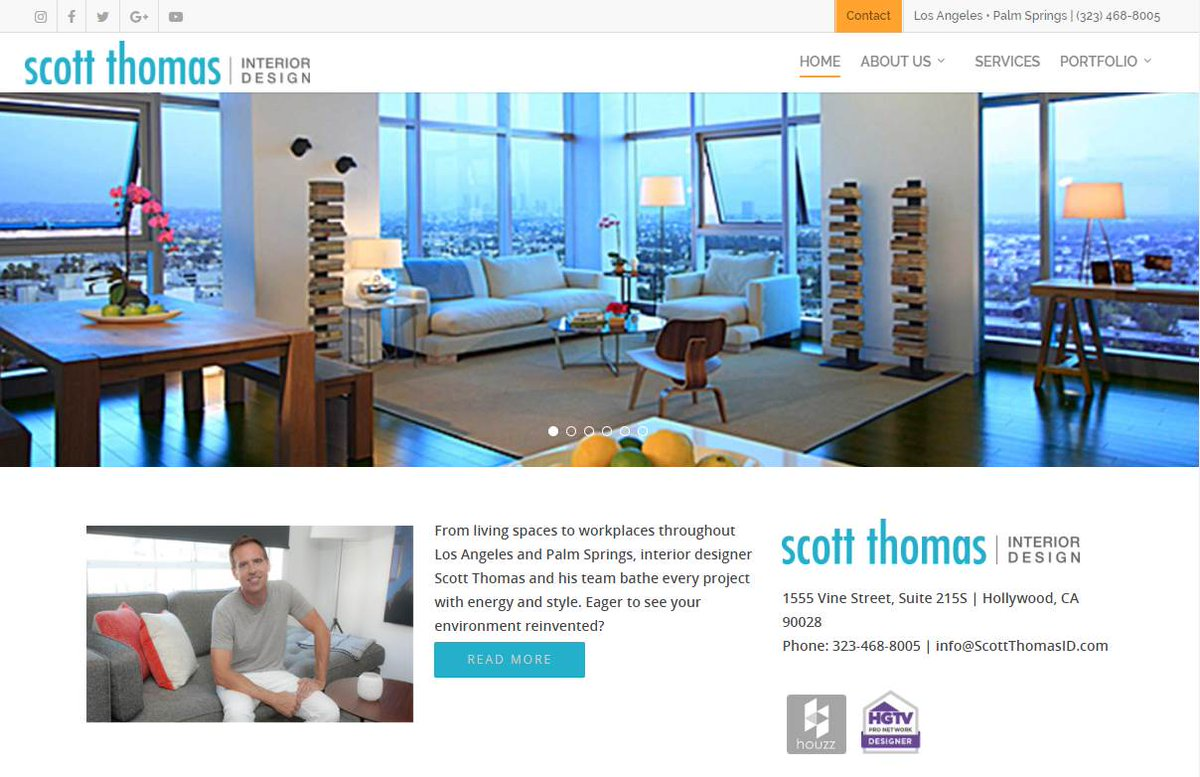 Scott Thomas Design On Twitter Our Makeover Is Complete Check