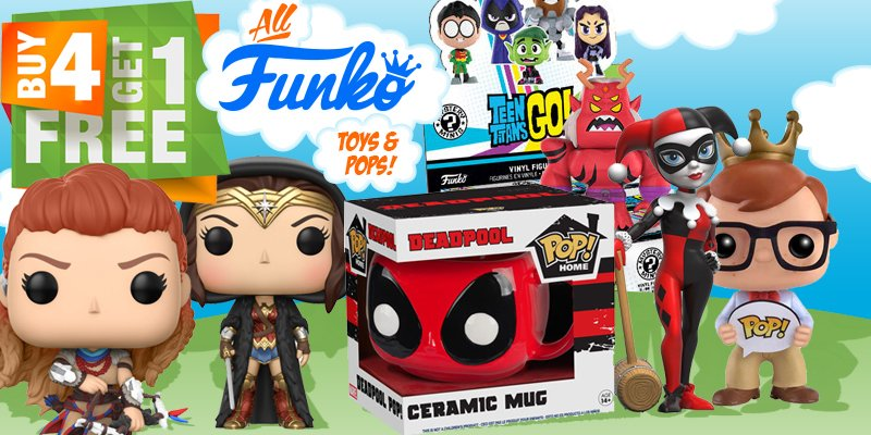 Toywiz on twitter buy 4 get 1 free funko toys at httpst toywiz on twitter buy 4 get 1 free funko toys at httpstxwmvavzlrv for a limited time only funko sale toywiz httpst0dqasufixo voltagebd Choice Image