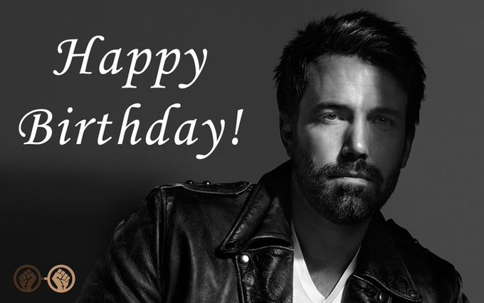 Happy Birthday to Ben Affleck aka Batman! The actor turns 45 today! It\s Lit!