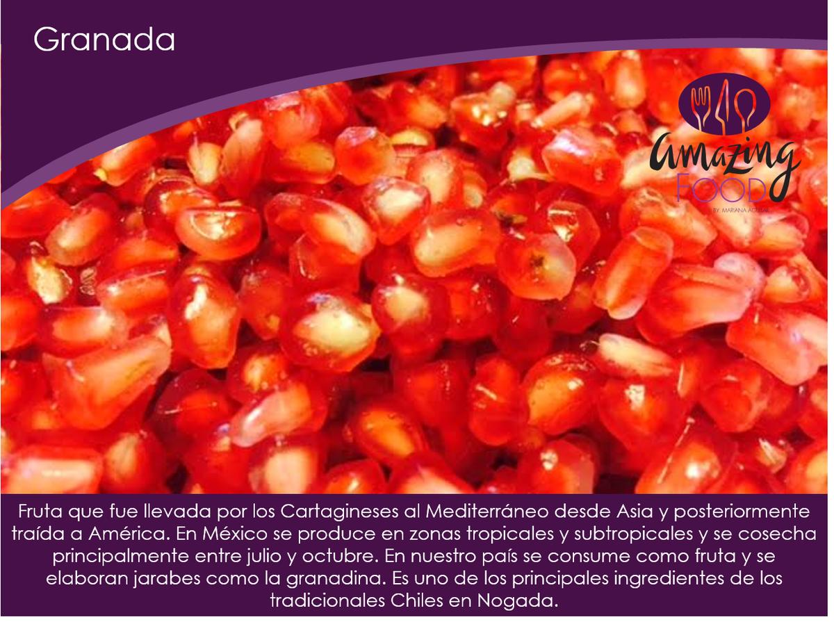 Lista para nuestros #ChilesEnNogada #GastronomíaMX #simplementedelicio...