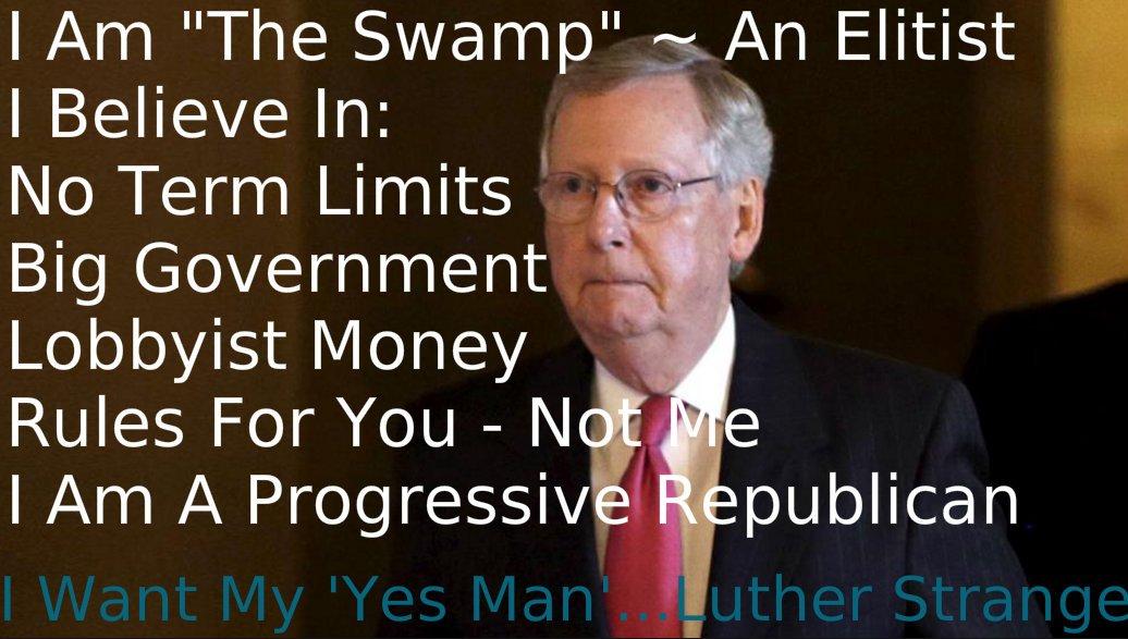 #Alabama  The #Swamp Is At Your Door Stop The #Elite  #DitchMitch @SenateMajLdr  Strange   @mobrooksforsen  @MooreSenate <br>http://pic.twitter.com/bGzrQJzKZE