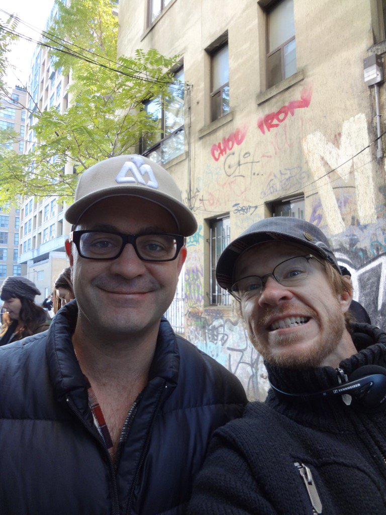 Outside Felix's on Day 1, Season 1 (2012...