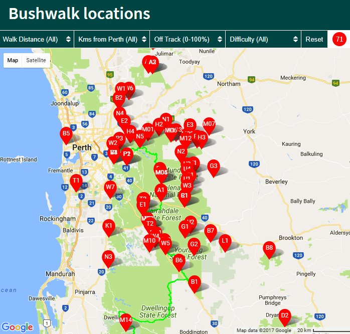 70 very good reasons to go #bushwalking near #Perth:  http:// bit.ly/2uF3Wi3  &nbsp;    .  #hiking #WA #parks #walks #recreation #health #exercise<br>http://pic.twitter.com/gtLSvLRDAW
