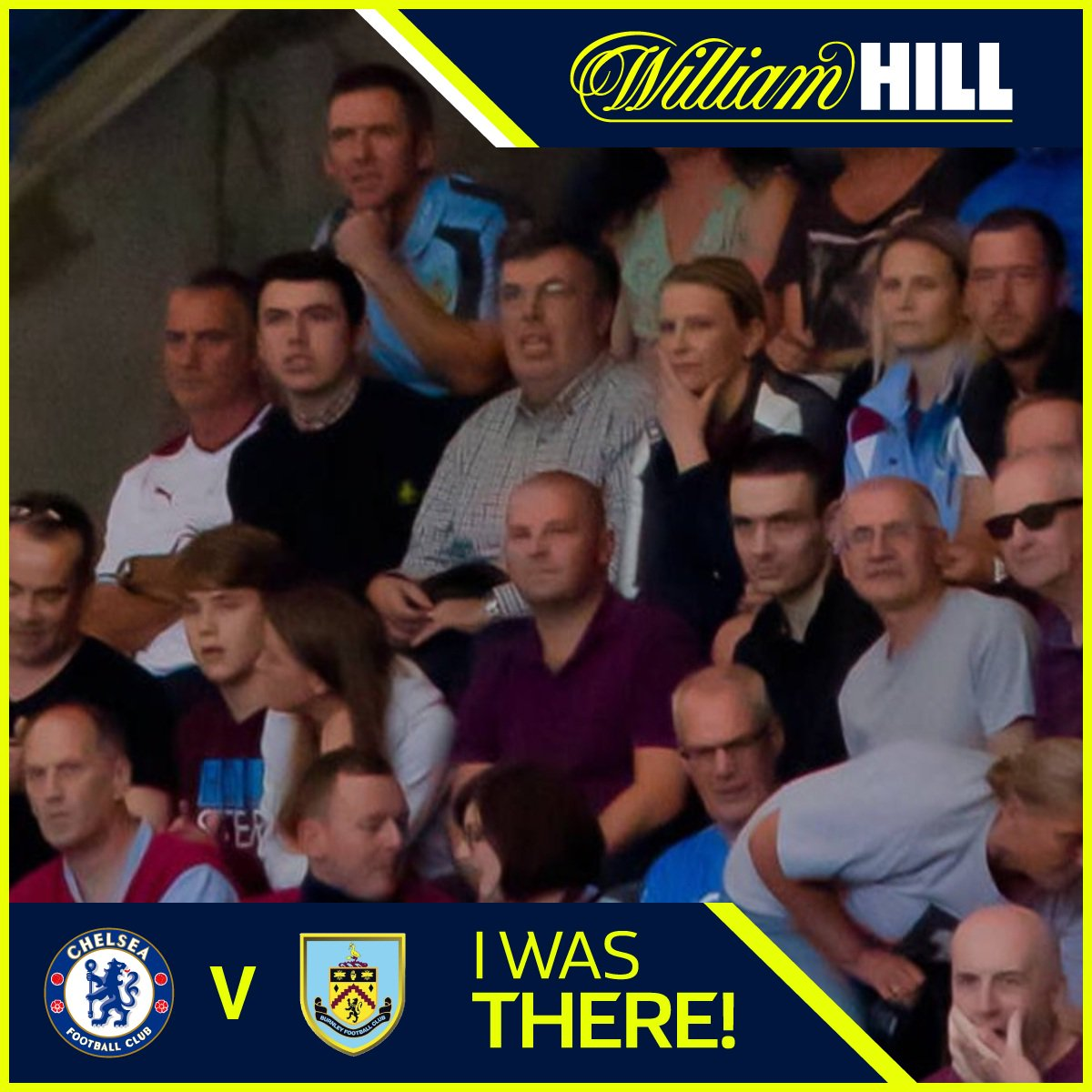 I was there! Check @WilliamHill FanPic  @ChelseaFC v Burnley #CHEBUR  http:// wh.cm/chelseafanpic  &nbsp;  <br>http://pic.twitter.com/iIV7lN3vzJ