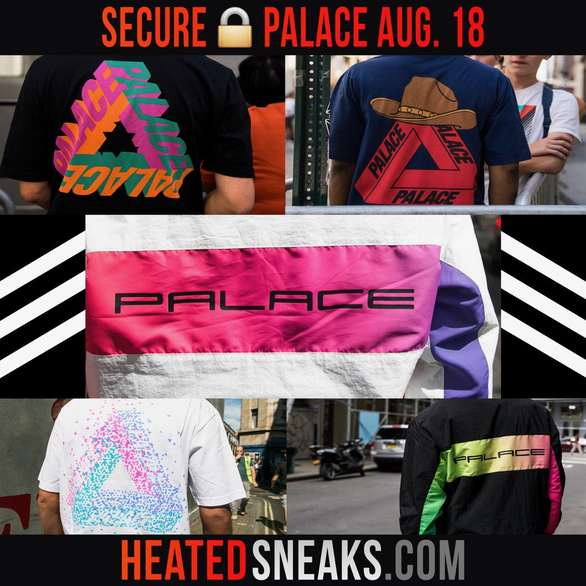 Heated Sneaks Bots On Twitter Palace Fw This Friday August 18 11 Am Est Gmt Https T Co Bovmignfut Unlimited Palace Bot Available