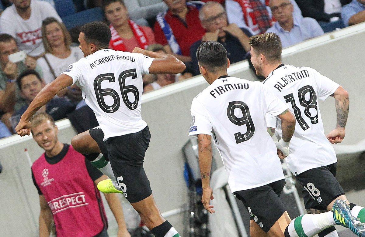 Video: Hoffenheim vs Liverpool