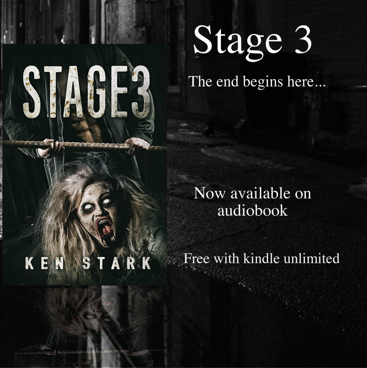 Sounds of a struggle echoed out of the darkness. Shouts, curses, then a shrill, frantic scream. #horror #zombies  https://www. amazon.com/Stage-3-Post-A pocalyptic-Thriller-ebook/dp/B01CYITYOS &nbsp; … <br>http://pic.twitter.com/KsJ65rPzGO