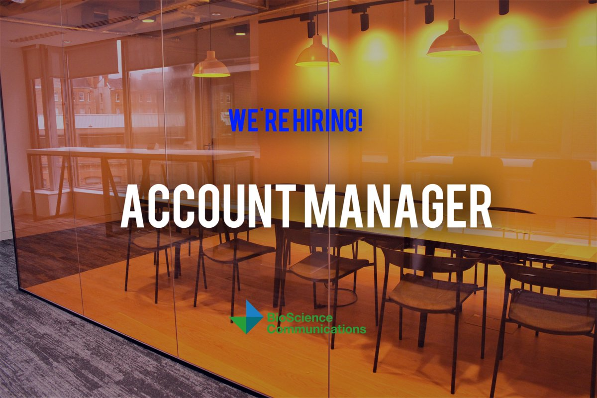 Are you an Account Manager looking for a career move? If so, get in touch!  http:// edl.mn/2vwEBGM  &nbsp;   #WeAreHiring #weareBioScience #medcomms <br>http://pic.twitter.com/z0G2uKFarv