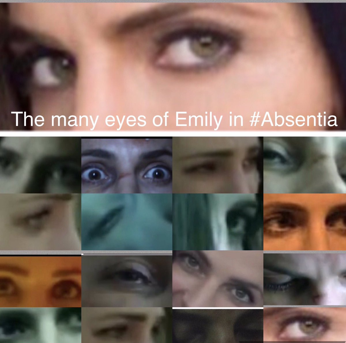 My version of &quot;the eyes of Emily Byrne&quot; #Absentia @Stana_Katic @AbsentiaSeries  the expressions of her eyes say everything<br>http://pic.twitter.com/XaKCIJi0t1
