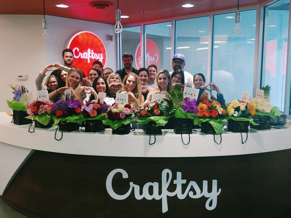Thank you @taylorswift13! We're so happy our messages brightened your day as much as your flowers brightened ours!
