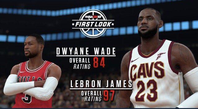 68b5cbd46643 Here s the overall rating for  KingJames and I for 17-18 season  NBA2K   Ronnie2K  NBA2K18  2kFirstLook… https   t.co KbOhFLClDd