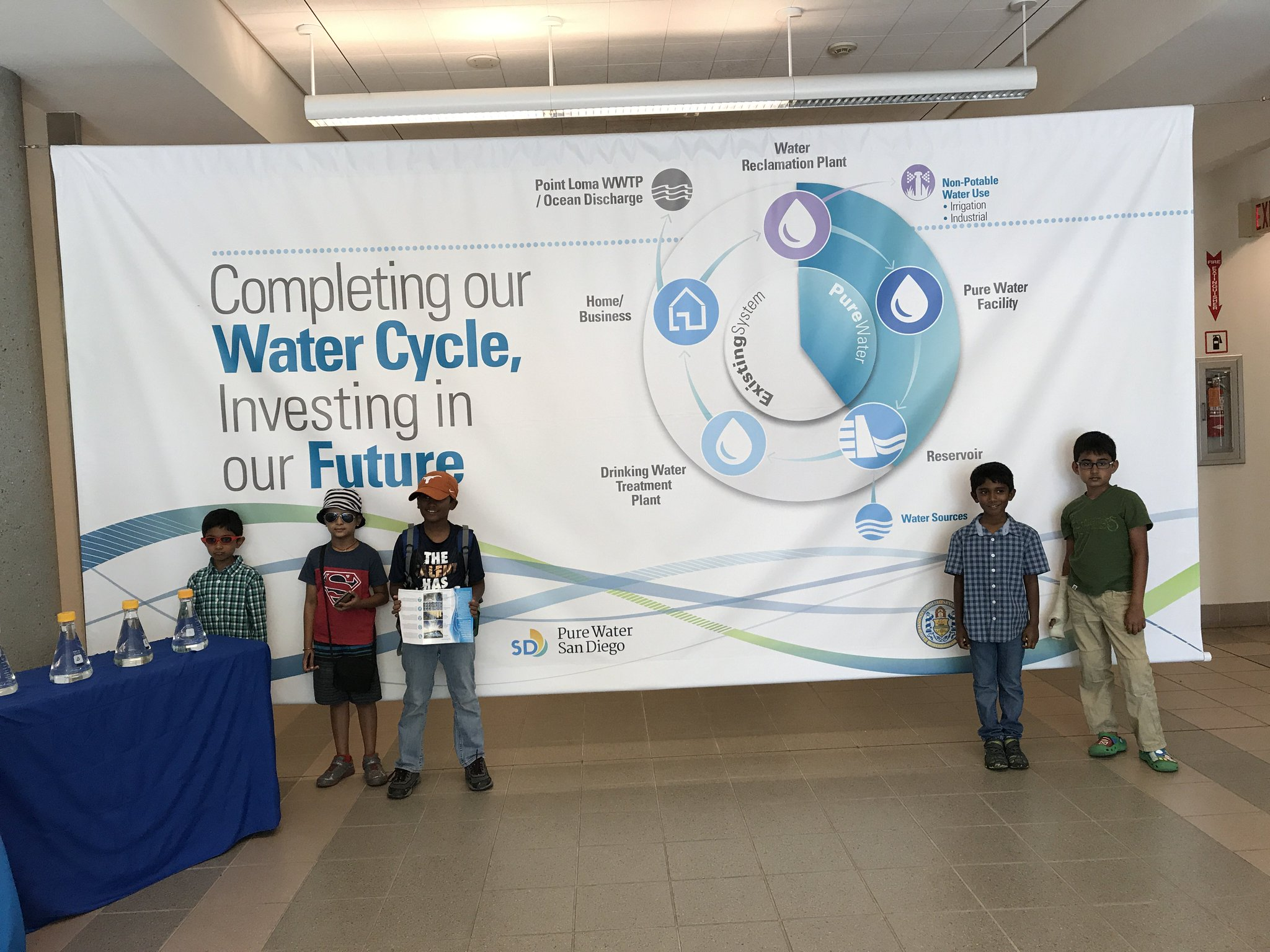 """Pure Water San Diego on Twitter """"Two local FirstLegoLeague teams"""