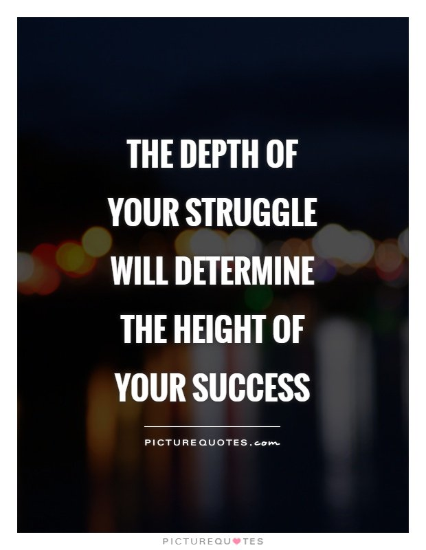 The depth of struggle determines the height of #success. @binayajha  #appdev #gamedev #iosdev #androiddev #webdesign #ecommerce #tech #IQRTG<br>http://pic.twitter.com/IBB44XTAy0
